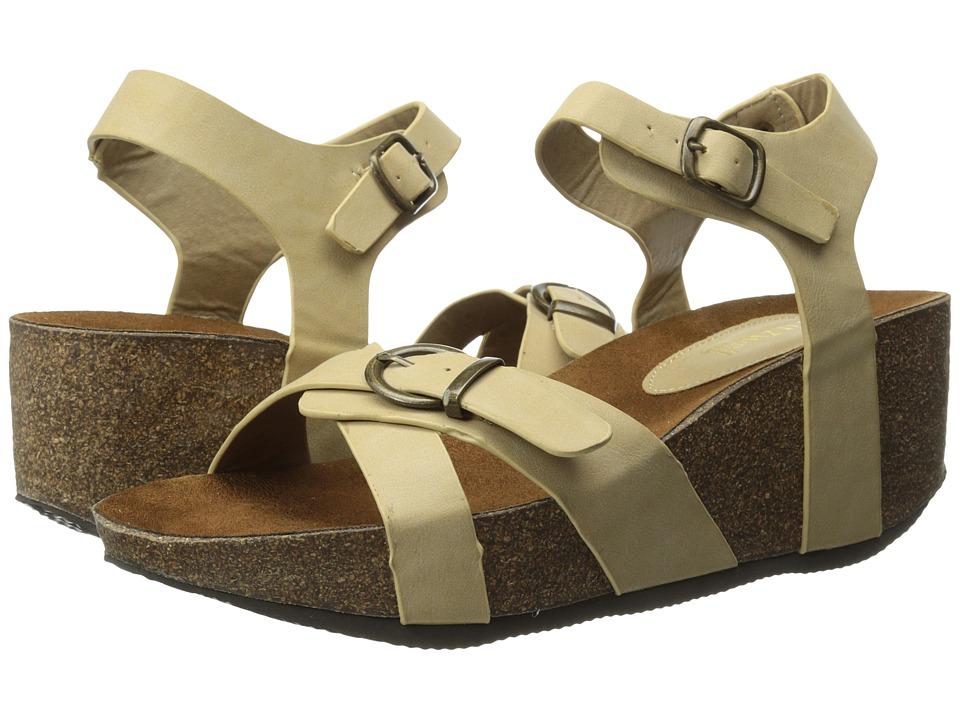 Fitzwell - Selena (Natural) Women's Sandals