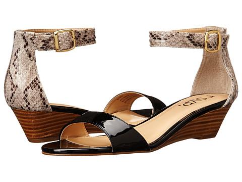 rsvp - Logan (Black/Snake Combo) Women's Sandals