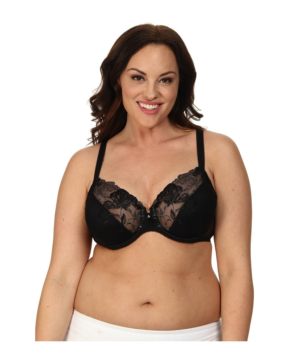 Wacoal - In Bloom Underwire Bra 855237 (Black) Women's Bra