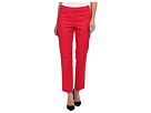 Adrianna Papell Slim Fit Pant w/ Vertical (Poppy)