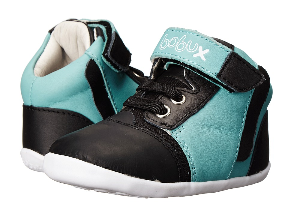 Bobux Kids - Step Up Halftone (Infant/Toddler) (Aqua) Kids Shoes