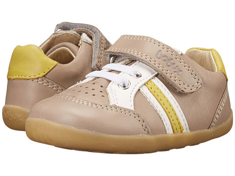 Bobux Kids - Step Up Trackside Sports (Infant/Toddler) (Taupe) Boys Shoes