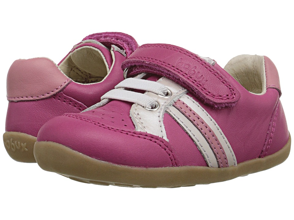 Bobux Kids - Step Up Trackside Sports (Infant/Toddler) (Pink) Girls Shoes