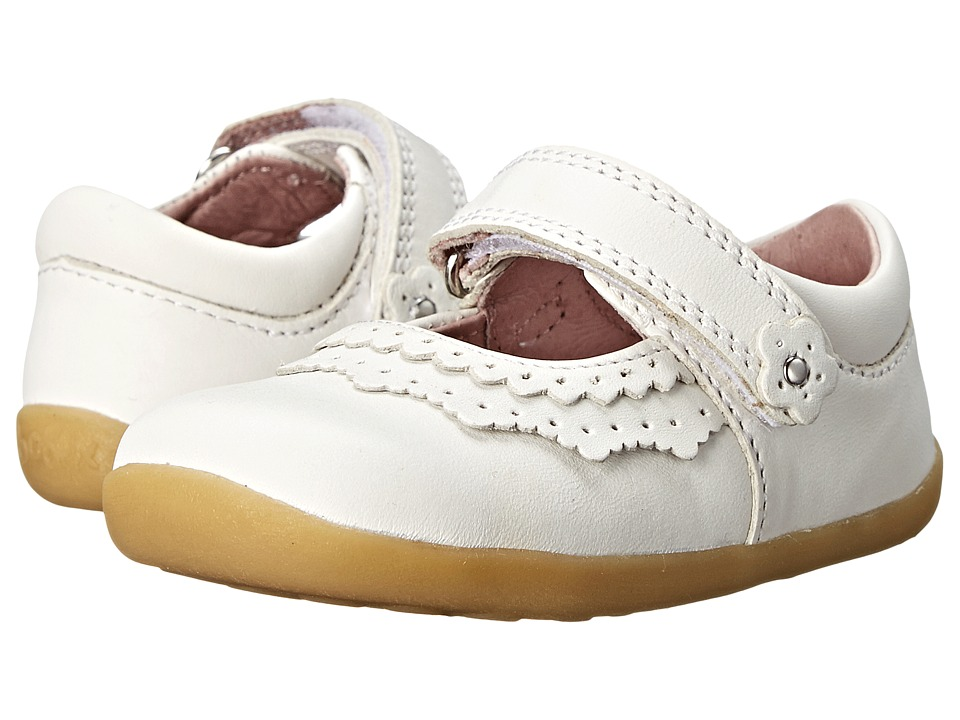 Bobux Kids - Step Up Dollhouse Mary Jane (Infant/Toddler) (White) Girls Shoes