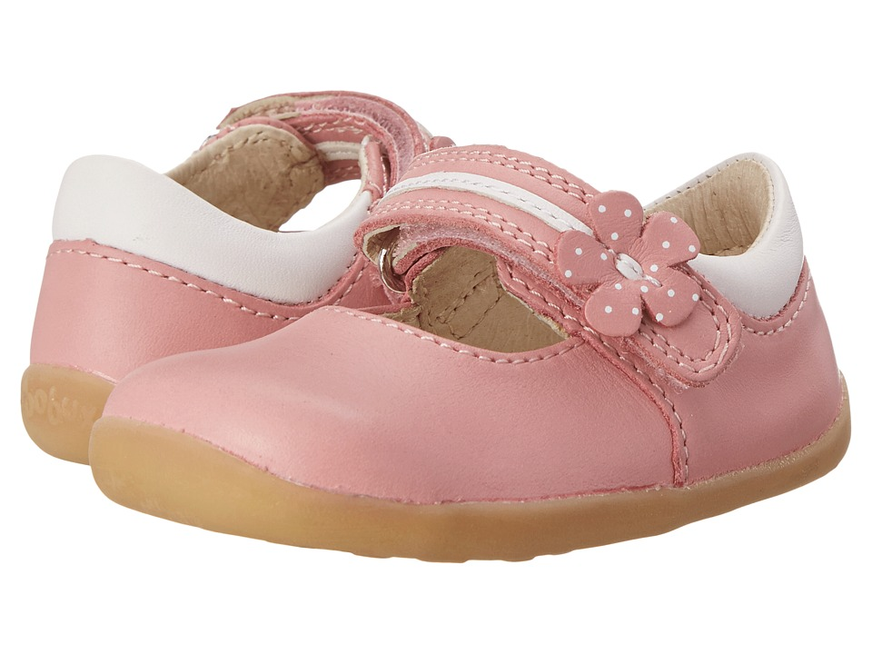 Bobux Kids - Step Up Pretty Paris Dress Shoe (Infant/Toddler) (Pink) Girls Shoes