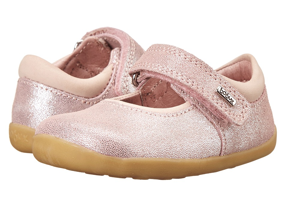 Bobux Kids - Step Up Shiny Dancer Mary Jane (Infant/Toddler) (Pink) Girls Shoes