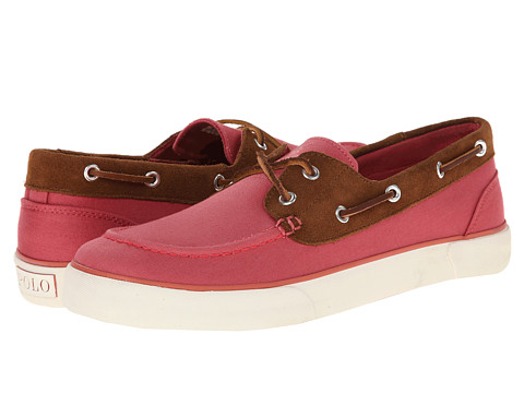 Polo Ralph Lauren - Rylander (Adirondack Berry/New Snuff Preppy Chino/Sport Suede) Men's Shoes