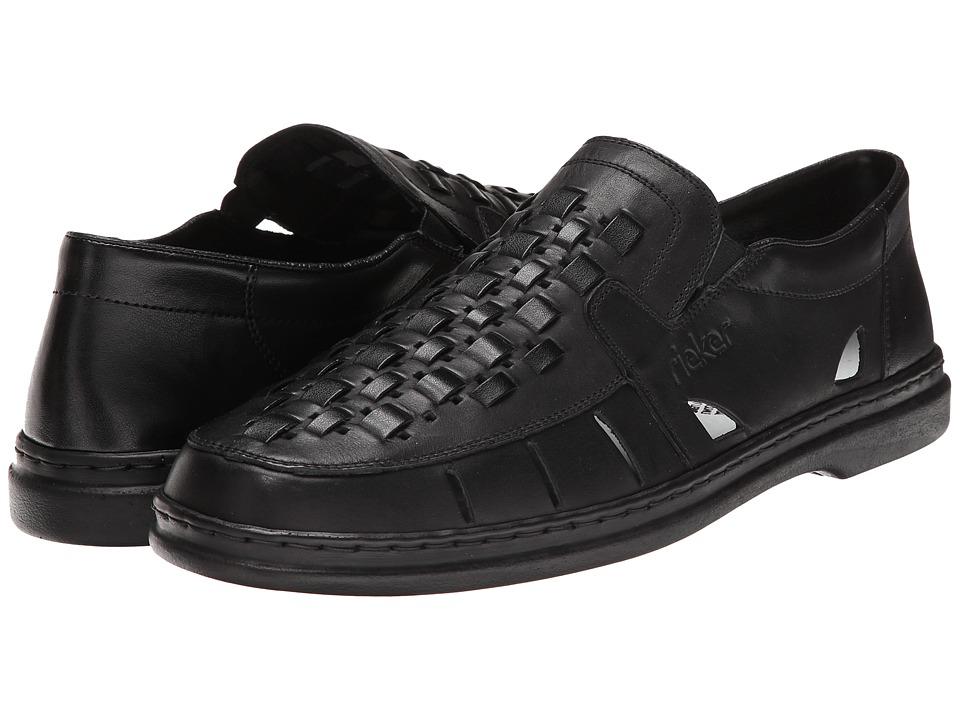 Rieker - 12389 Norman 89 (Nero/Black) Men's Shoes