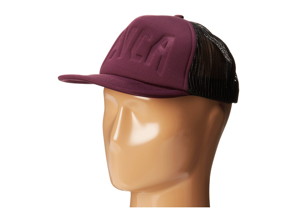 RVCA - Change of Heart Trucker Hat (Purple Haze) Caps