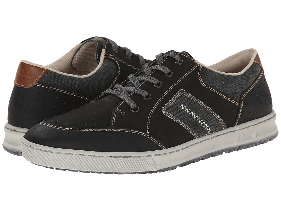 Rieker - B3024 Tobias 24 (Schwarz/Schwarz/Anthrazit) Men's Shoes
