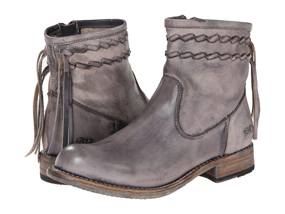 Bed Stu - Craven (Black Driftwood) Women's Zip Boots