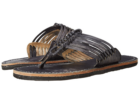 Bed Stu - Riley (Black Driftwood) Women's Sandals