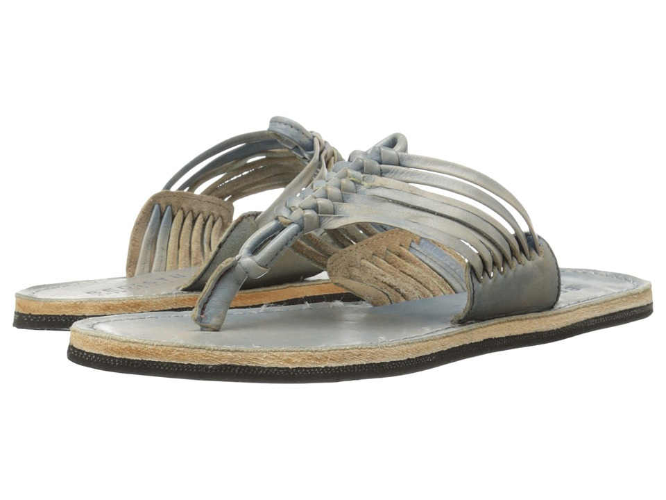 Bed Stu - Riley (Blue Driftwood) Women's Sandals