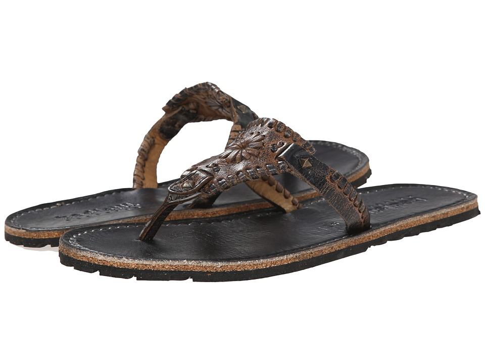 Bed Stu - Adobe (Black Lux) Women's Sandals
