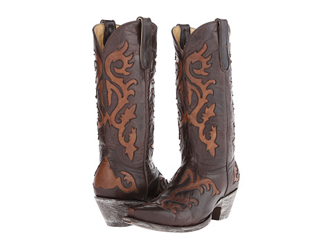 Old Gringo - Night Owl (Chocolate/Oryx) Cowboy Boots