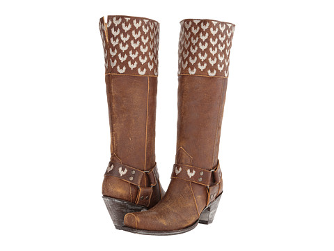Old Gringo - Rosnana Pajaros (Rust) Cowboy Boots
