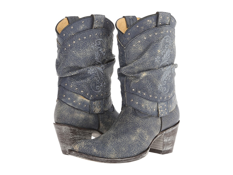 Old Gringo - Teresita (Crackled Navy Blue) Cowboy Boots