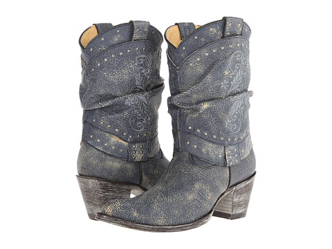 Old Gringo - Teresita (Crackled Navy Blue) Cowboy Boots