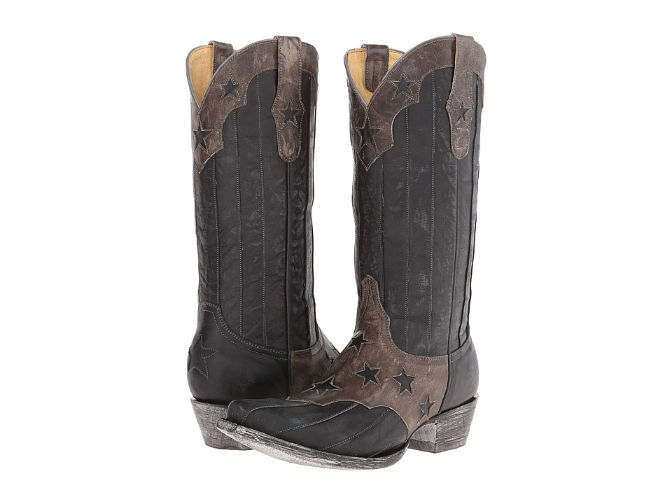 Old Gringo - San Marcos (Grey/Black) Cowboy Boots