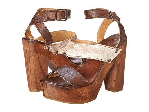Bed Stu - Marilyn (Nectar Lux/Teak Rustic) High Heels