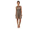 Short Sleeveless Beaded Party Dress