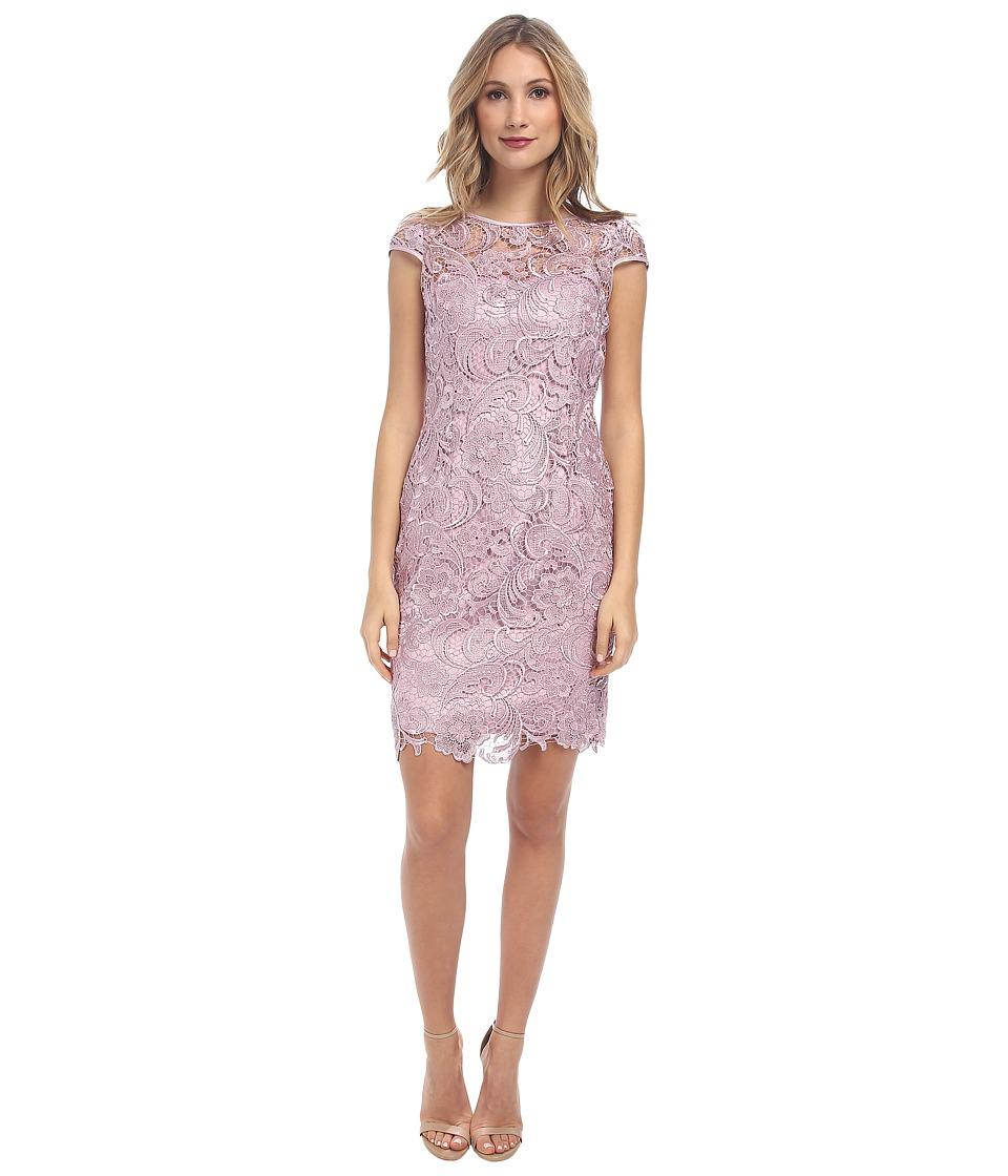 Adrianna Papell - Cap Sleeve Dress (Icy Lilac) Women's Dress