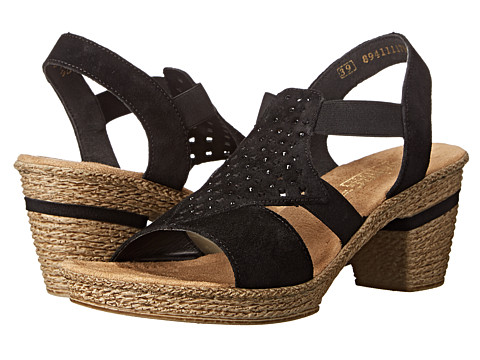 Rieker - 69096 Roberta 96 (Black) Women