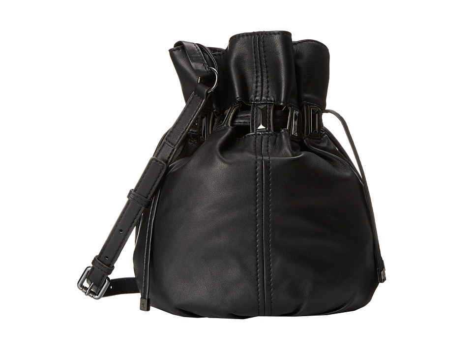 Kooba - Echo Drawstring (Black) Handbags