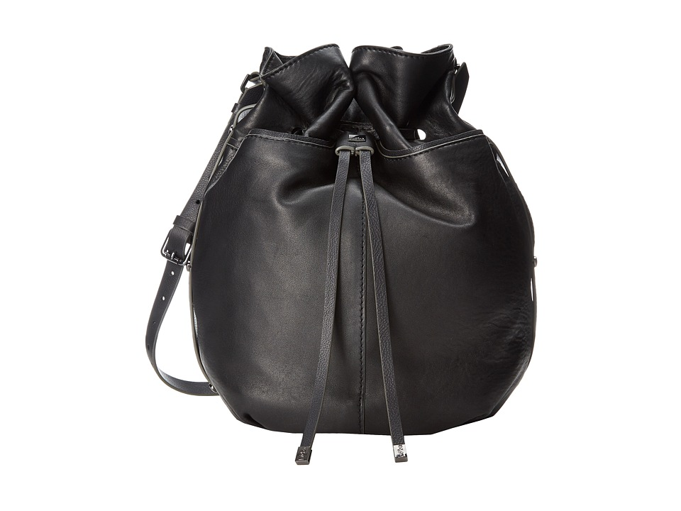 Kooba - Frankie Drawstring (Black) Handbags