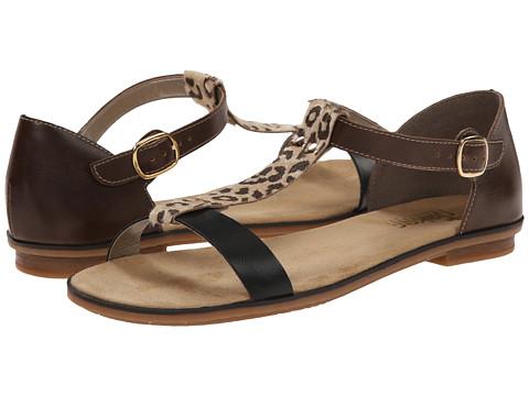 Rieker - 64259 Levinia 59 (Schwarz/Beige/Kastanie) Women's Shoes