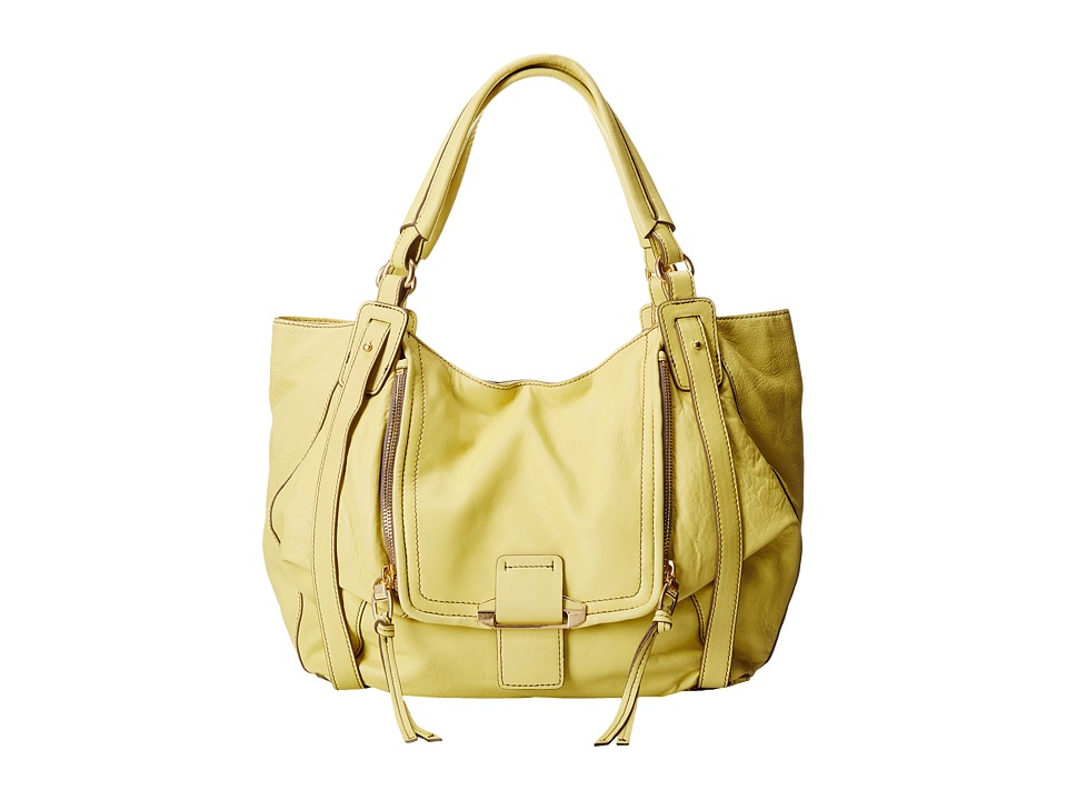 Kooba - Jonnie (Lemon Yellow) Shoulder Handbags
