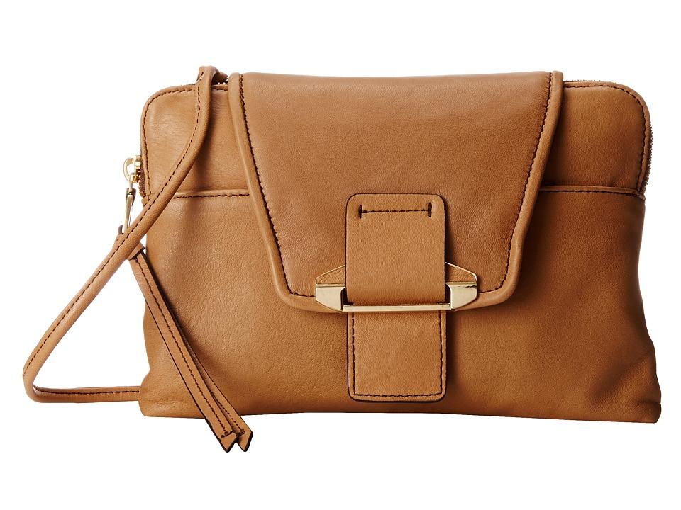 Kooba - Emery (Camel) Cross Body Handbags