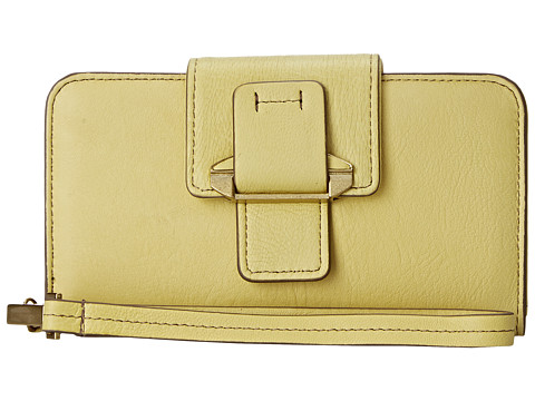 Kooba - Jonnie PDA Wristlet (Lemon Yellow) Handbags