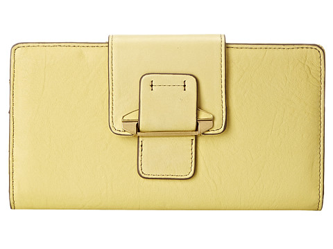 Kooba - Jonnie Tab Wallet (Lemon Yellow) Wallet Handbags
