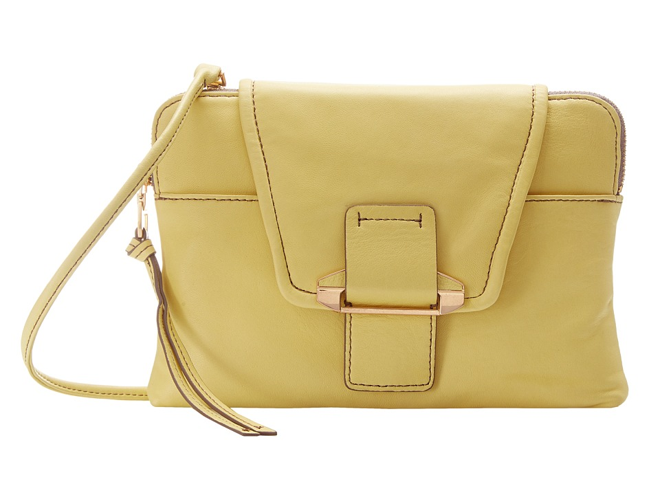 Kooba - Emery (Lemon Yellow) Cross Body Handbags