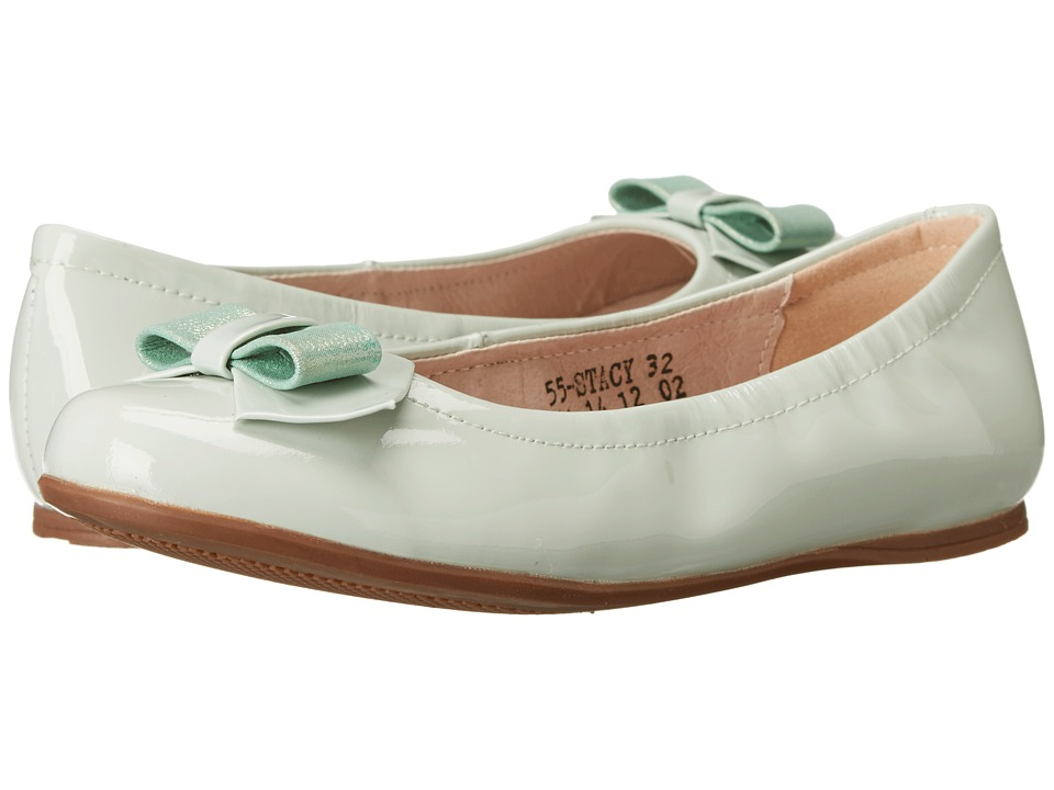 Venettini Kids - 55-Stacy (Little Kid/Big Kid) (Mint Patent/Mint Glitter) Girls Shoes