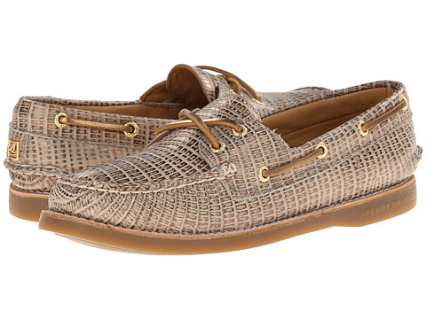 Sperry Top-Sider - Gold A/O 2-Eye Python (Bronze) Women