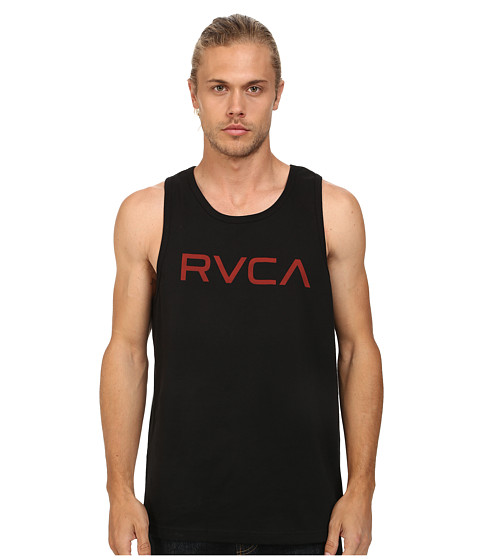 RVCA - Big RVCA Tank (Black 2) Men's Sleeveless