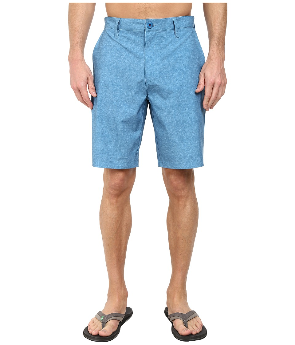 RVCA - Benefits Hybrid (Acid Wash Blue) Men's Shorts