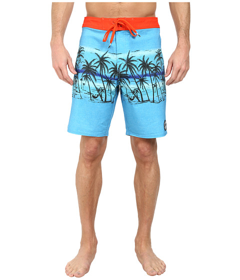 RVCA - Deadmans Bay Trunk (Bright Blue) Men