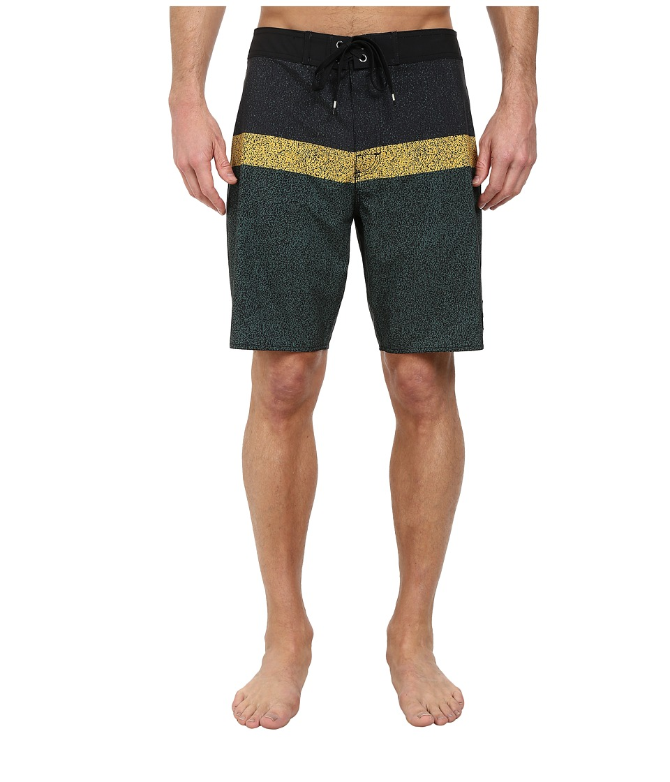 RVCA - Cold Fusion Trunk (Black) Men's Swimwear