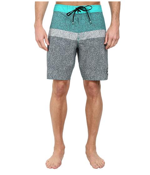 RVCA - Cold Fusion Trunk (Bright Green) Men's Swimwear