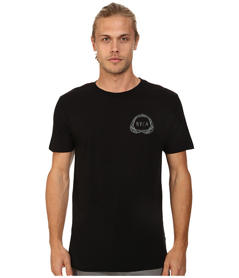 RVCA - Shark Teeth Tee (Black) Men