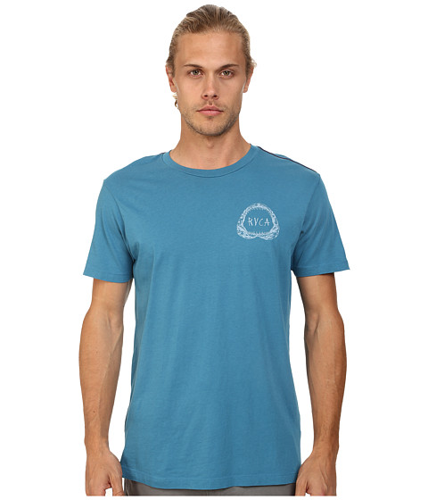 RVCA - Shark Teeth Tee (French Blue) Men's T Shirt
