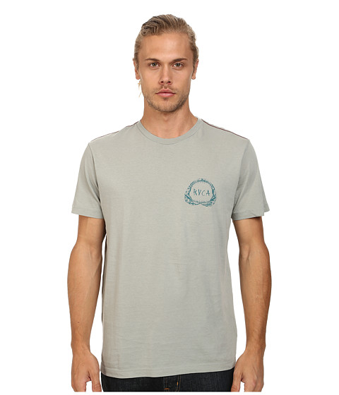 RVCA - Shark Teeth Tee (Iron) Men's T Shirt