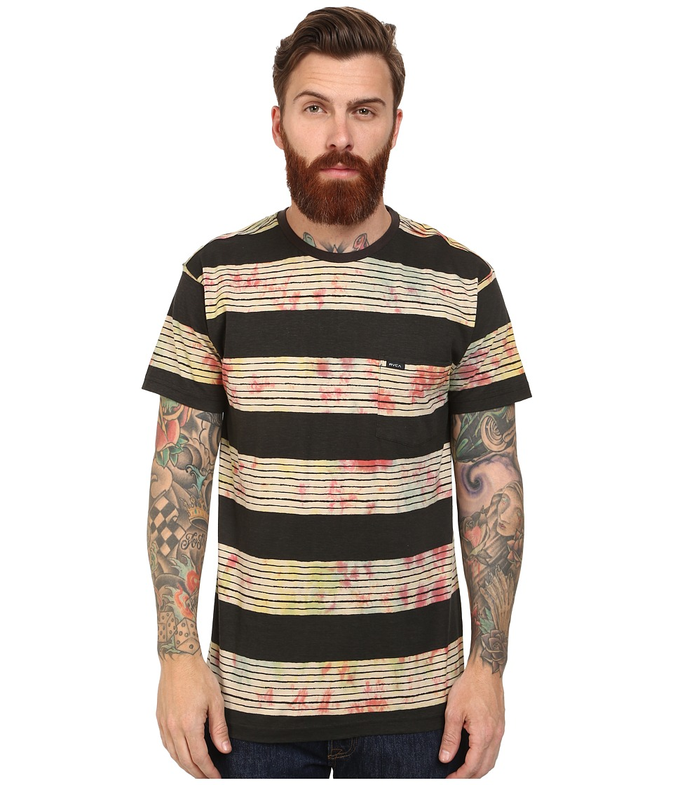 RVCA - Horai Stripe Knit Crew (Multi) Men's Short Sleeve Pullover