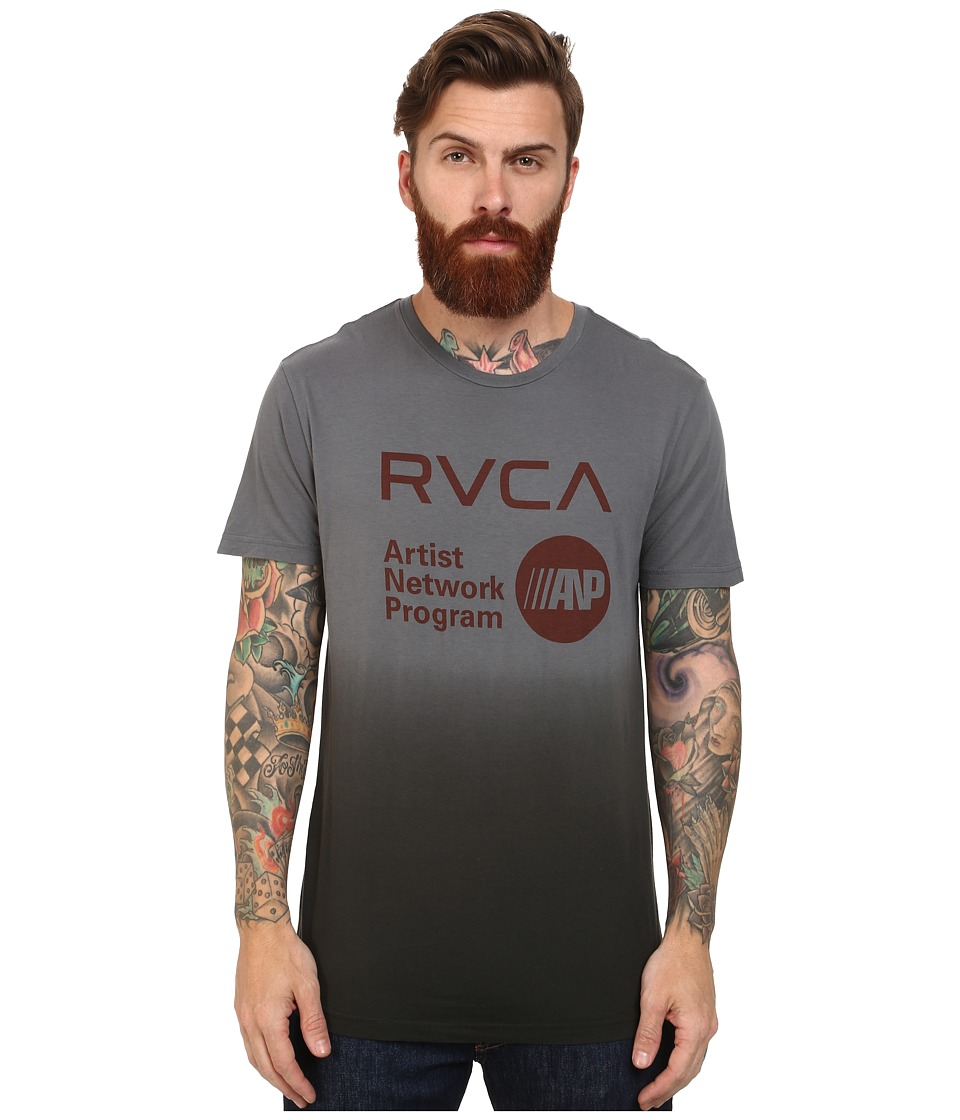 RVCA - ANP Printed Pocket Tee (Pavement) Men's T Shirt