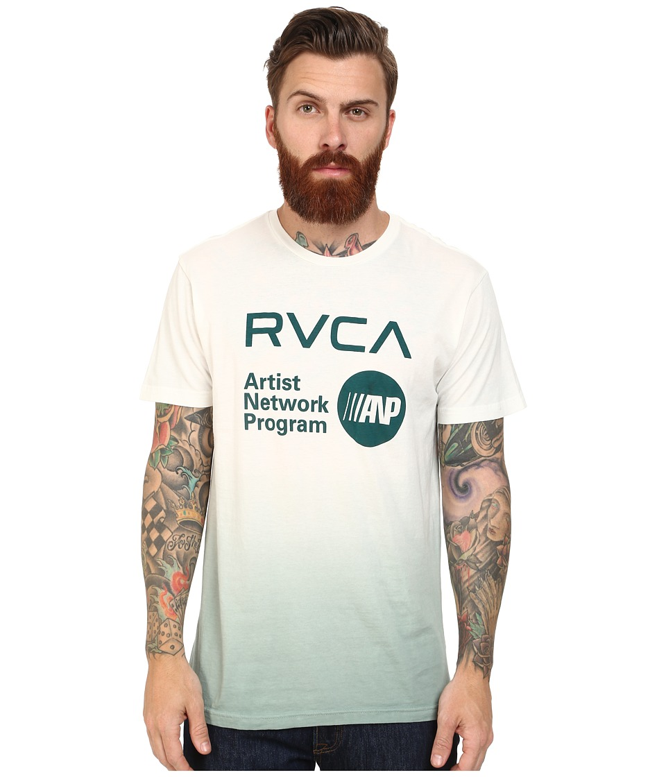 RVCA - ANP Printed Pocket Tee (Vintage White) Men