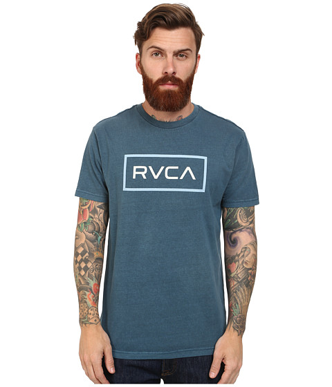 RVCA - RVCA Rectangle Tee (Blue Thunder) Men's T Shirt