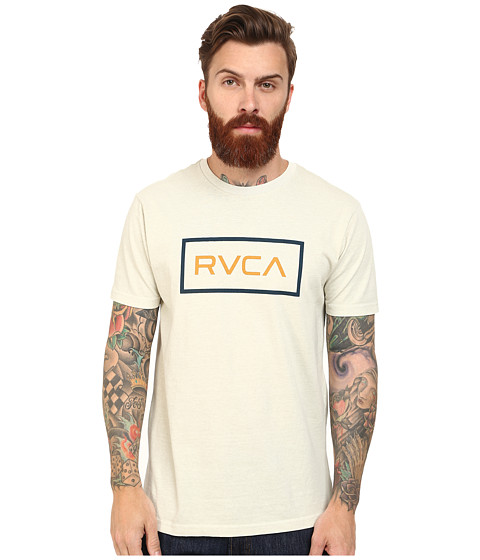 RVCA - RVCA Rectangle Tee (Silver Beach) Men's T Shirt